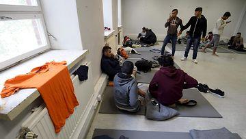 Vastaanottokeskus pakolaiset pakolainen pakolaiskriisi hennala lahti varuskunta turvapaikka turvapaikanhakija turvapaikanhakijat