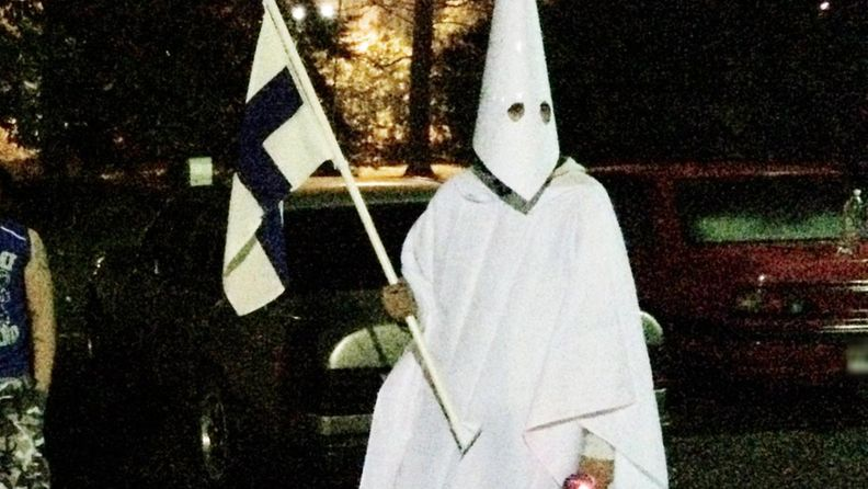 Ku Klux Klan Lahti isku mielenosoitus