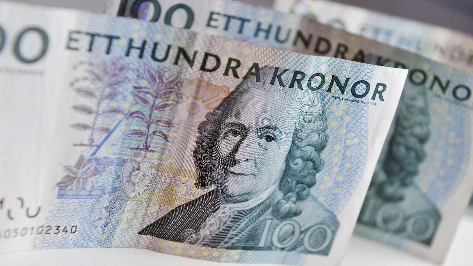 Ruotsin Kruunu Setelit