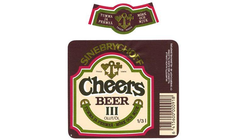 Retro-olut Cheers
