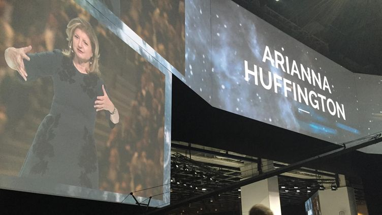 Arianne Huffington NBF Nordic Business Forum