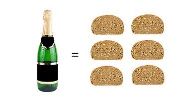 Kuohuviini ja leipä