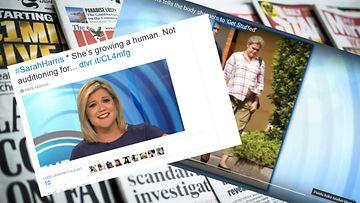 Australialainen televisiojuontaja Sarah Harris antoi haukkujille takaisin omassa ohjelmassaan.