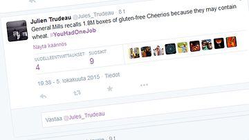 gluteeni, kuvakaappaus, cheerios