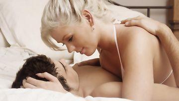 pariskunta, sänky, seksi