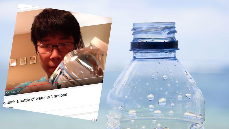 vesipullo, kuvakaappaus