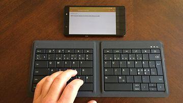 Microsoft Universal Foldable Keyboard -näppäimistö