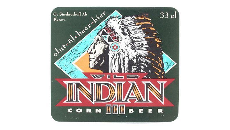 Retro-olut Wild Indian