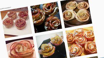 omenaruusut, instagram, kuvakaappaus