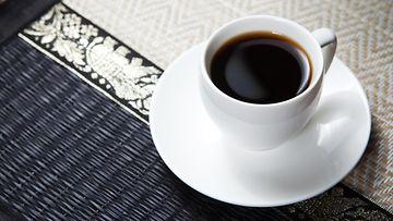 musta kahvi