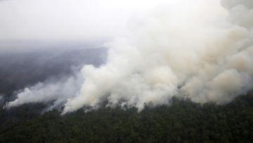 Indonesia, metsäpalot, savu, päästöt