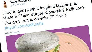 kuvakaappaus, twitter, hampurilainen, mcdonalds