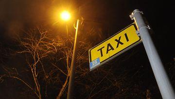 Taksi. Kuvituskuva.