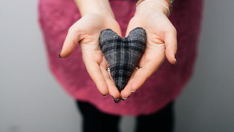 Nainen ja sydän