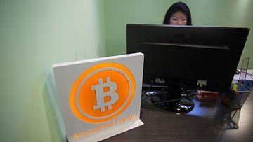 Bitcoin raha valuutta maksu