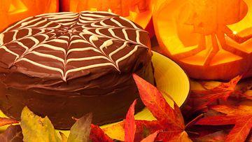 hämähäkinseitti, kakku, halloween