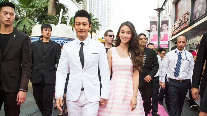 Xiaoming Huang ja Angela Yeung