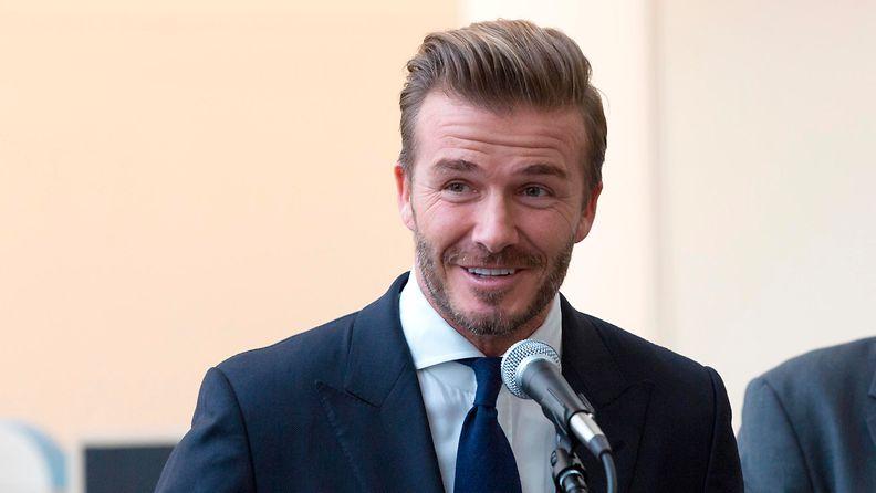 David Beckham 25.9.2015