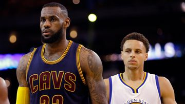 LeBron James ja Stephen Curry, 2015