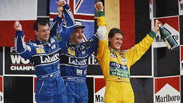 Nigel Mansell, Michael Schumacher Meksikon GP