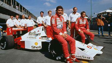 Meksikon GP Ayrton Senna