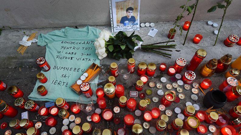 Bukarestin yokerhopalo-kynttilat