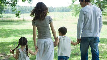 perhe, lapset, vanhemmat