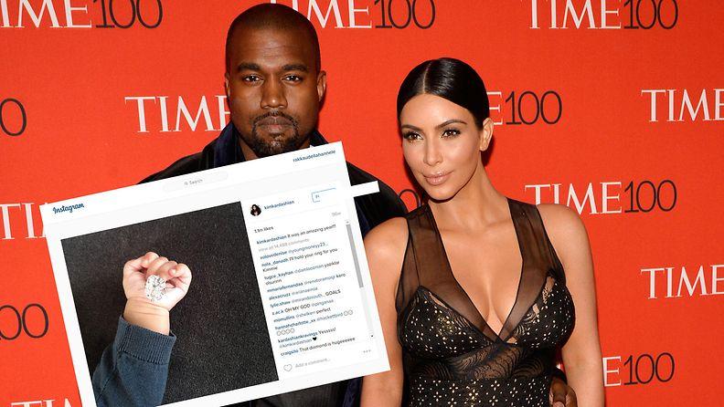 Kim Kardashian aloitti oudon Instagram-trendin