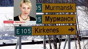Mirja Sipinen Norja Kirkkoniemi