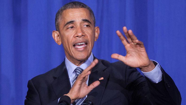 Obama Barack Yhdysvaltain presidentti