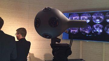 Nokian OZO-virtuaalitodellisuuskamera