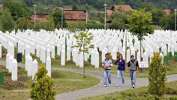 Srebrenica muistomerkki serbia kansanmurha bosnia