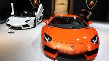 Lamborghini Aventadori
