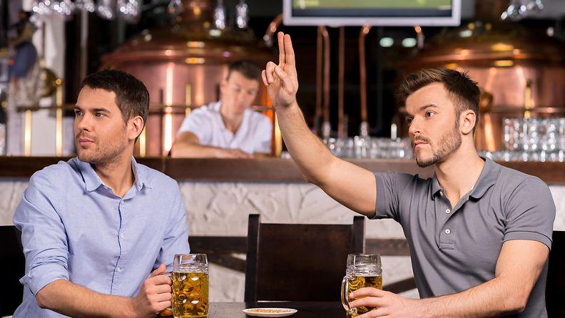 baari, miehet, asiakkaat