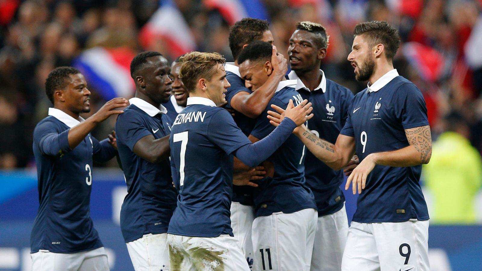Ranskan Jalkapallomaajoukkue