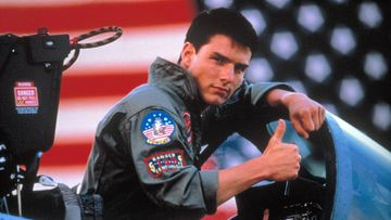 Tom Cruise Top Gunissa 1986
