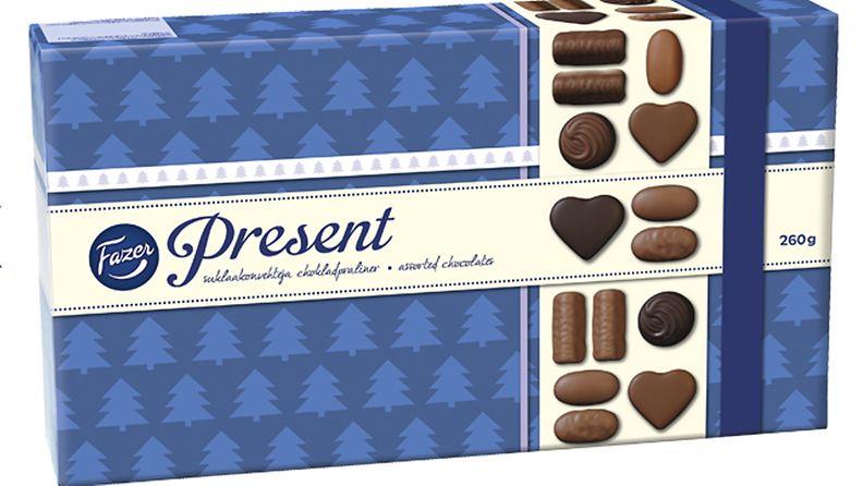Present suklaa