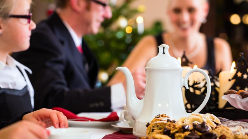 joulu, sukujuhlat, ruoka