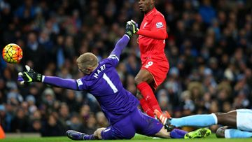 Joe Hart, Christian Benteke