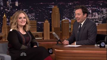 Adele ja Jimmy Fallon 23.11.2015