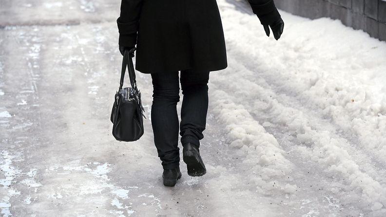 talvi, liukkaus