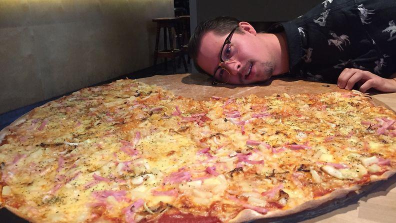 Ravintola Siilinpesä Janiko pizza