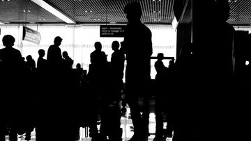 lentokenttä, jono, turvatarkastus