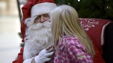 joulupukki, lapsi