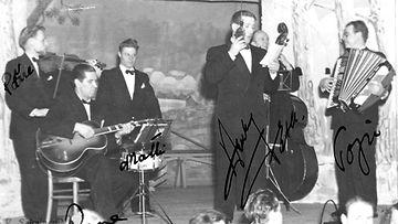 Toivo Kärki 1952 ja bändi