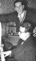 Toivo Kärki 1956 ja Reino Helismaa