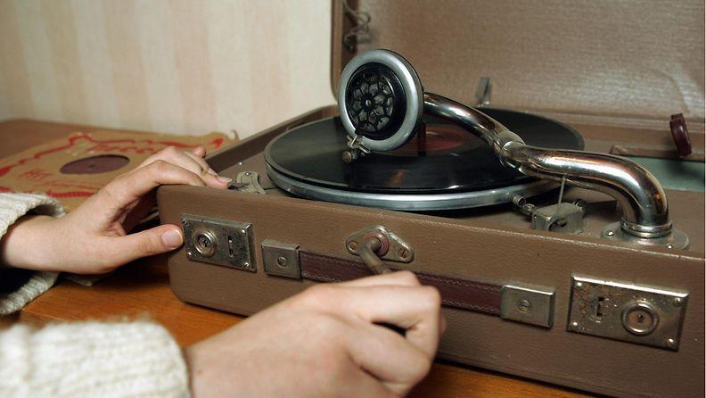 Vanha gramofoni