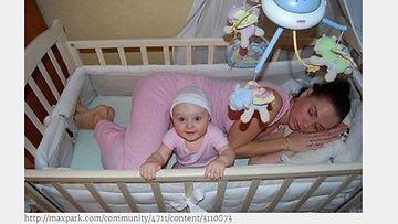 Ruutukaappaus, äiti ja lapsi