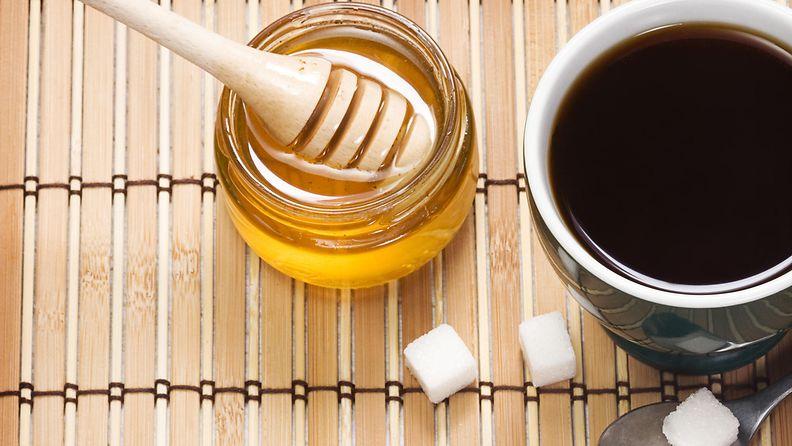 sokeria ja hunajaa