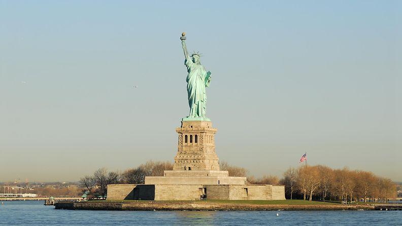 new york, vapaudenpatsas